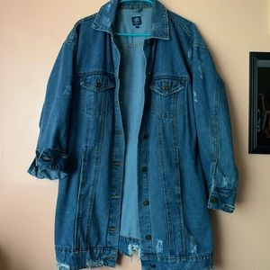 Jean Jackets Are In So Is Distressed